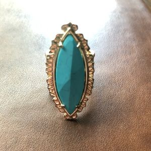 Kendra Scott Turquoise Cocktail Ring